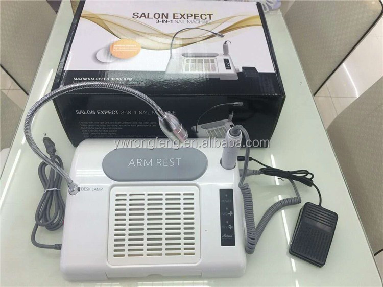 Fjq-6 35w Nail Dust Extractor For Nail Salon 3 In 1 Vacuum Cleaner ...
