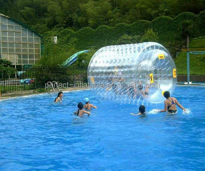 Guangzhou Factory direct make Inflatable water roller, inflatable water zorb ball for sale