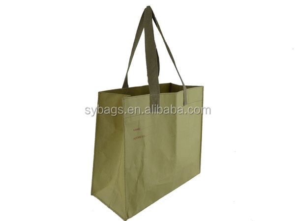 paper laminated promotional shopping bag / Paper documents pouch / paper gift bag