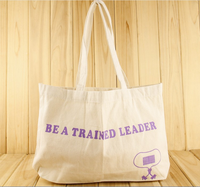 recycle carry bag for gift canvas bag with logo printing