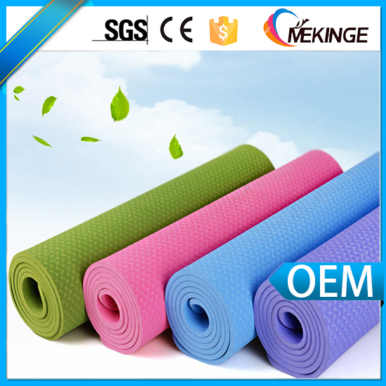 6mm pvc/tpe Yoga Mat Thick Exercise Fitness Pilates non slip Mats
