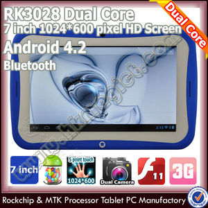 "7"" kids android 4.2 os easy touch tablet pc android in me"