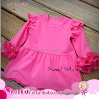 New design baby girls dress birthday princess angel flutter pearl lap hand made icing ruffle dress pari dress for baby girl