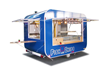 Blue Color Fashion Design mobile food van for sale FV-58