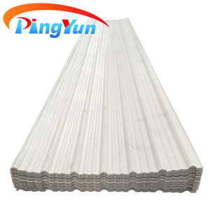 one layer pvc roofing sheet/3 layer corrugated upvc roof tile