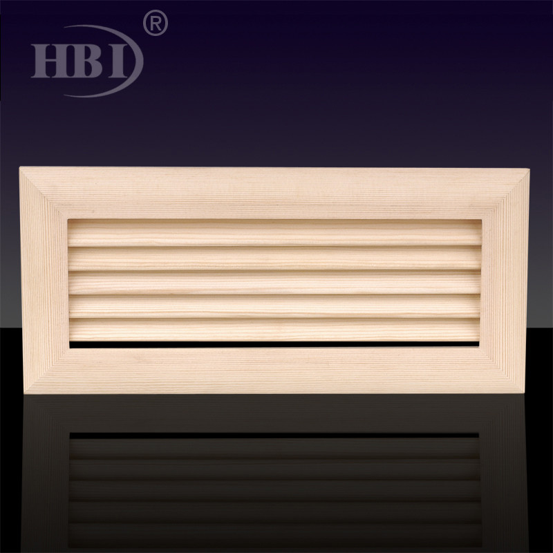 1WSD Wooden Return Air Vent Grille For Floor Ceiling or Sidewall
