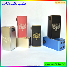 2015 Christmas wholesale lowest price 1:1 clone mechanical box mod point blank box hammer of god v2 box mod