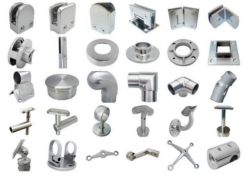 High quality stainless steel handrail connection fitting