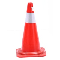 High Quality Signal PVC Road Safety Traffic Cone For Parking Place