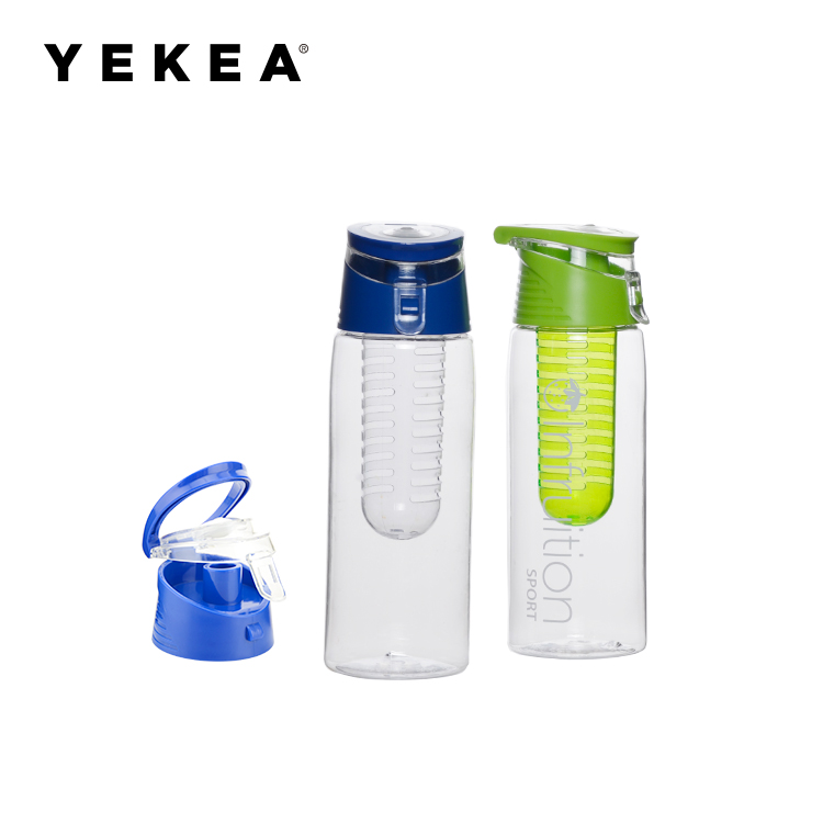 700ml BPA FREE Tritan Fruit Infuser Water Bottle With Lid