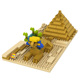 Hot sale Sphinx cheap kids toys buy building nanobloks loz diamond block