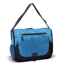 new design blue polyester canvas cross body bags men