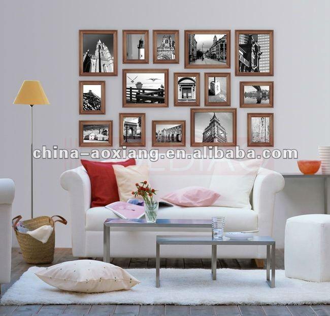 De alta calidad 15p conjunto de marco de fotos en varios colores ...