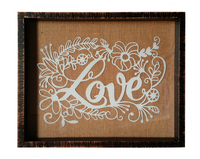 Valentine Day's Gift Picture Frames White LOVE Photo Frame 11x14inch