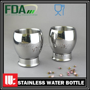 Food Grade 9oz Stable Standing Never Overturn Design Stainless Steel Office Tea Mug