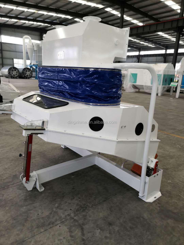 High Capacity TQSX Series Suction Type Specific Gravity Destoner for Corns
