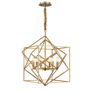 copper geometry chandeliers,european industrial pendant light