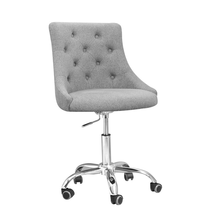 high back diamond back fabric office stool