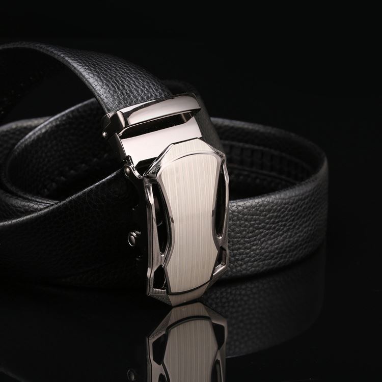 Wholesale prices super quality pu leather automatic belt for men from china