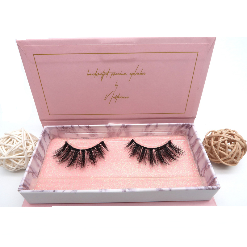 Crown Lashes 50 Pairs 3d Mink Eyelashes Private Label Eyelashes Mink Eyelash Vendors Makeup Beauty Essentials