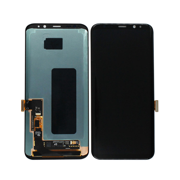 Black Display LCD Touch Screen Digitizer Frame Replacement For Samsung Galaxy S9 plus