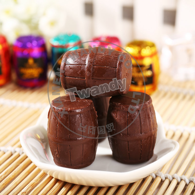 Hot sales Wine barrels chocolate candy