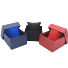 Wholesale OEM customized cheap men's and women's couple luxury square paper cardboard watch packaging box for gift