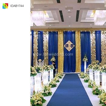 Ida Wedding+decoration+in+royal+blue Backdrop (idab1744) - Buy ...