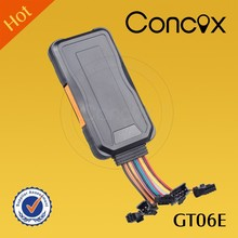 Concox GT06E New market share intelligent 3G GPS Car Tracker Quad-band Built-in Antenna 3g gps for car