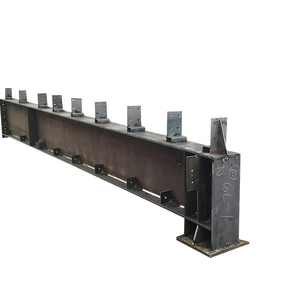 Types of prefabricated light metal structural steel H beam price per Kg