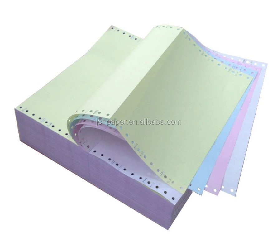 perforated continuous computer printing form paper
