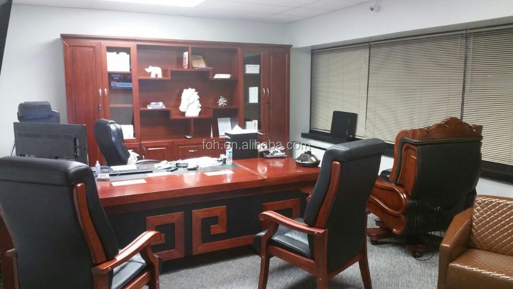 Nice Office Desk, Office Chair, Cabinet, Sofa, Tea Table Full Set Office