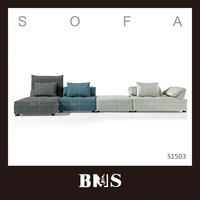 Quality designer fabric sofa direct from maker