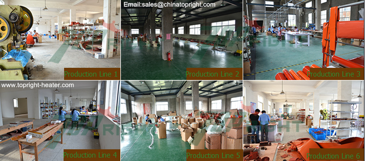 Topright polyimide film heater production line