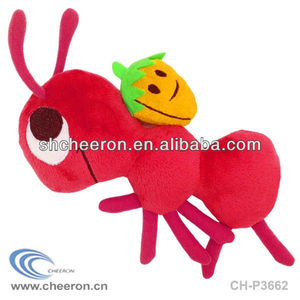 Animal stuffed toys plush ant toys