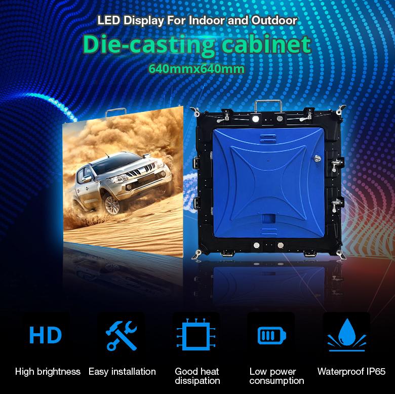 high brightness p2.5 smd2121 indoor led display