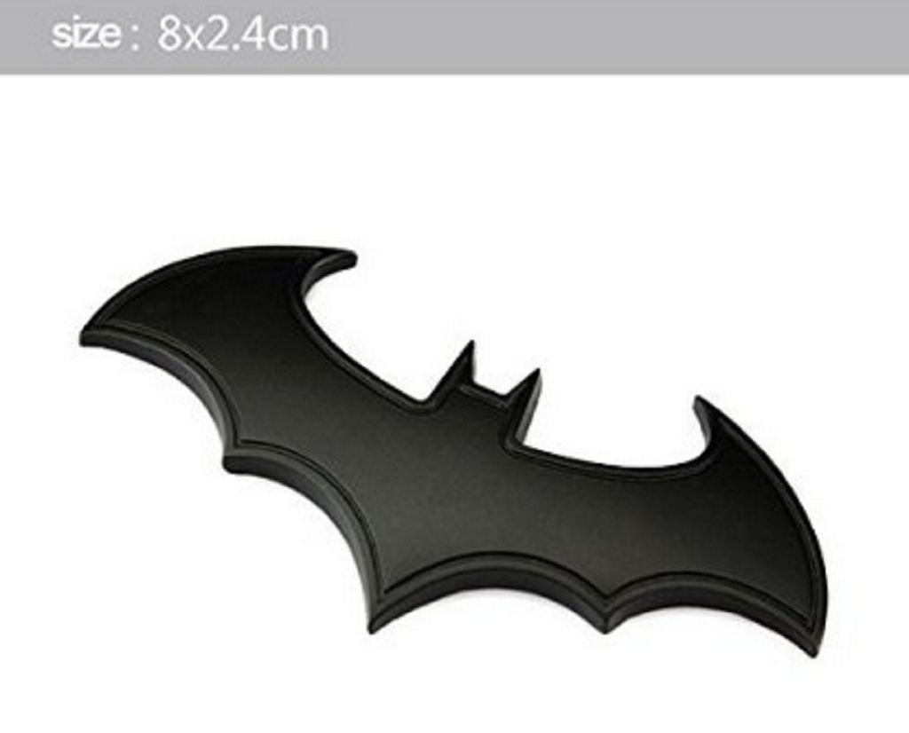 "DC Batman White Bat Logo Emblem Car Window Sticker Decal 5/"" Officially Licensed"