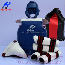 high quantity taekwondo sets of six taekwondo protector from factory