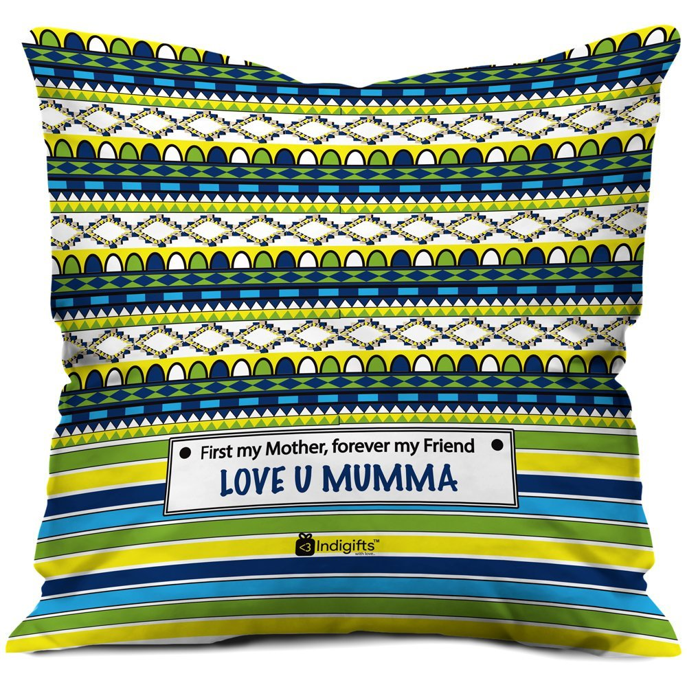 Get Quotations Indibni Mothers Day Gifts Love You Mumma Quote Doodle Pattern Multi 16x16 Cushion