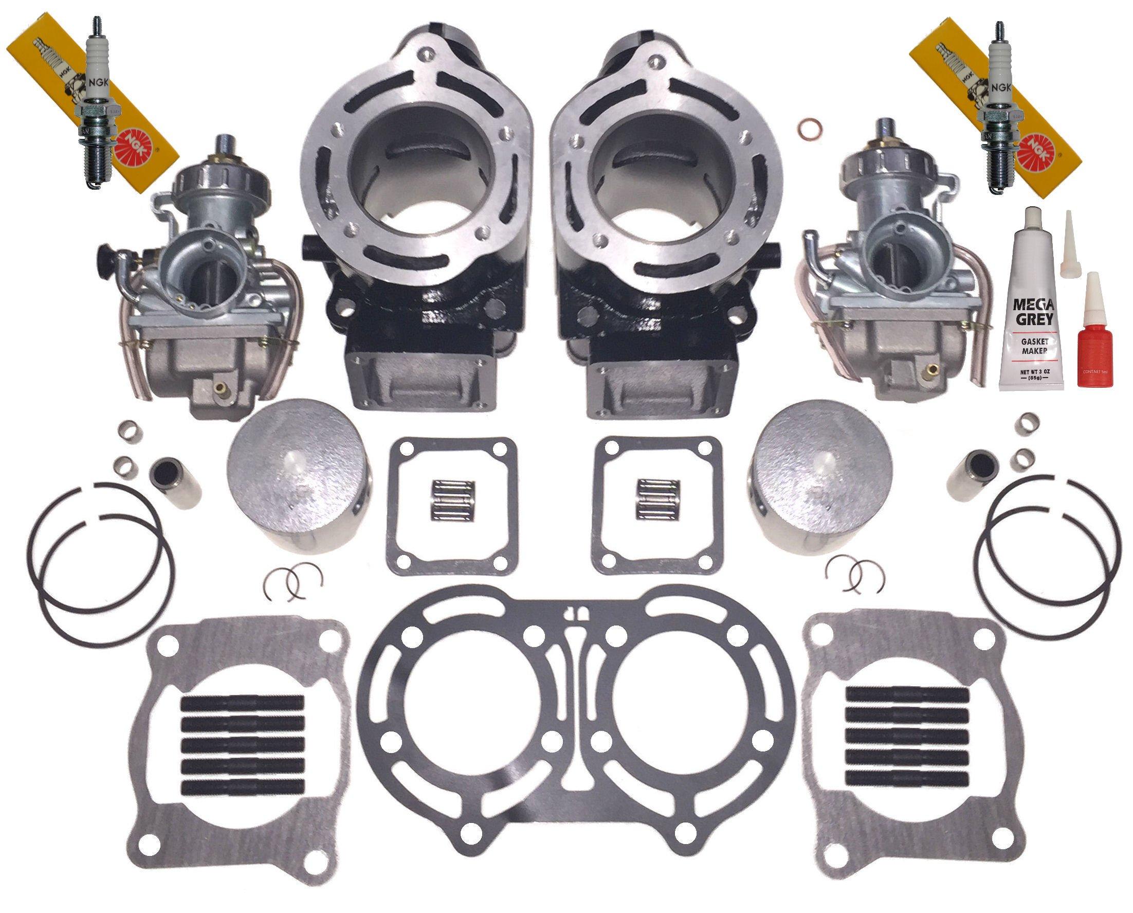 Namura 2 Hi Compression .090 Over Bore Piston Kit Yamaha Banshee 350 66.25mm NA-40000-9