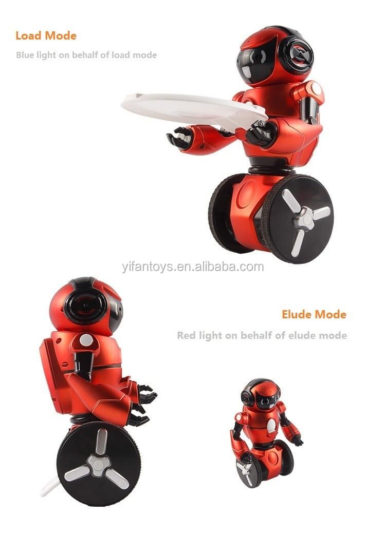 2016 New Toys 2.4g Rc Robot Intelligent Robot With Motion Sensor ...