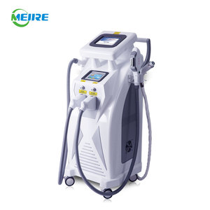 China manufacturer opt e light ipl rf nd yag laser 4 in 1 multifunctional beauty instrument