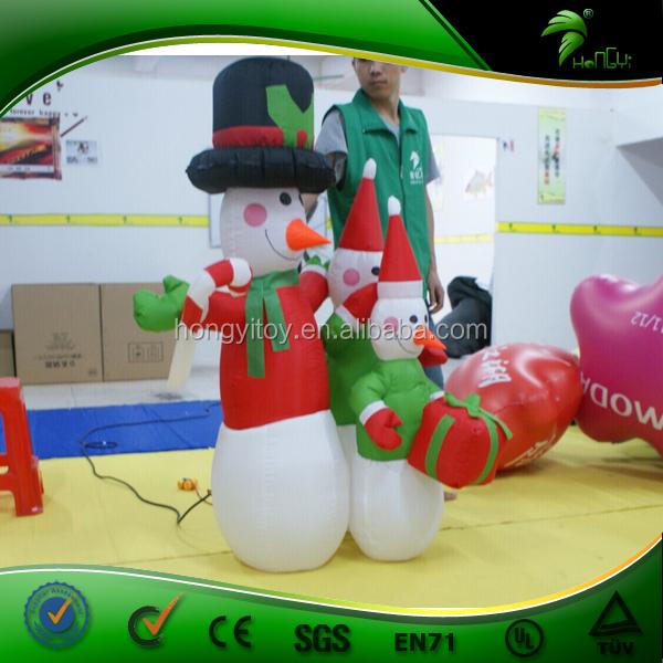 Opblaasbare Kerstversiering Opblaasbare Sneeuwpop Kerstman Kerstboom