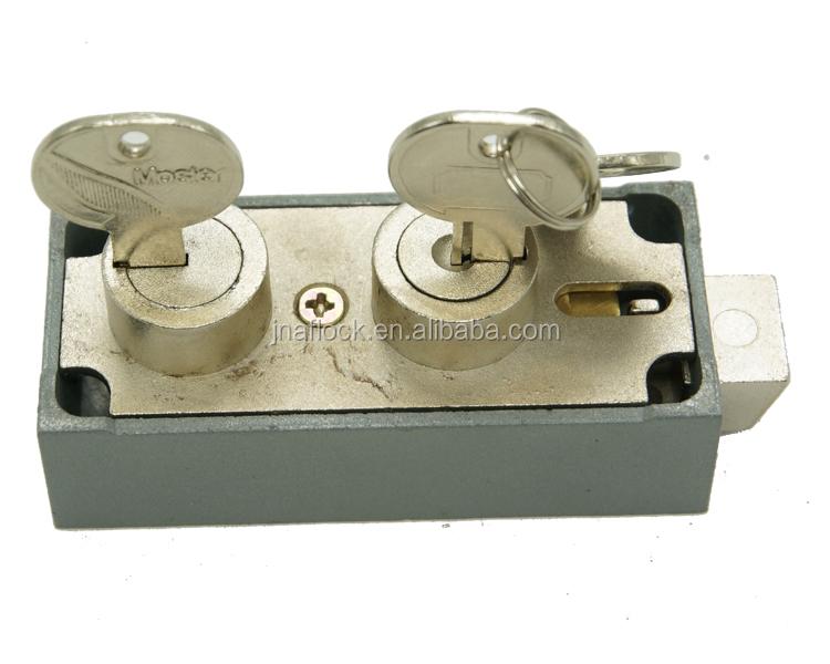 U l Listed Mechanical Dual Key Lock Mosler 586a - Buy Ul Listed Safe  Deposit Lock Mosler 586a,Dual Key Lock For Bank,Double Key Lock For Safe  Deposit