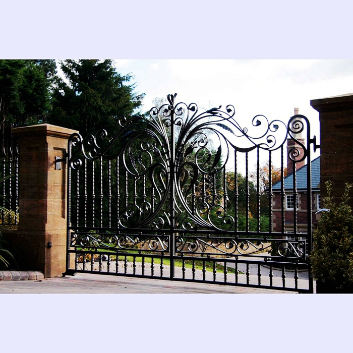 Top Ing Hand Forged Rod Iron Gate