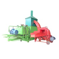 Best Quality Straw Bale Press Machine Mini Hay Silage Baler And Wrapper Machine