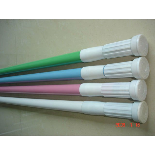 aluminum extension shower curtain rod