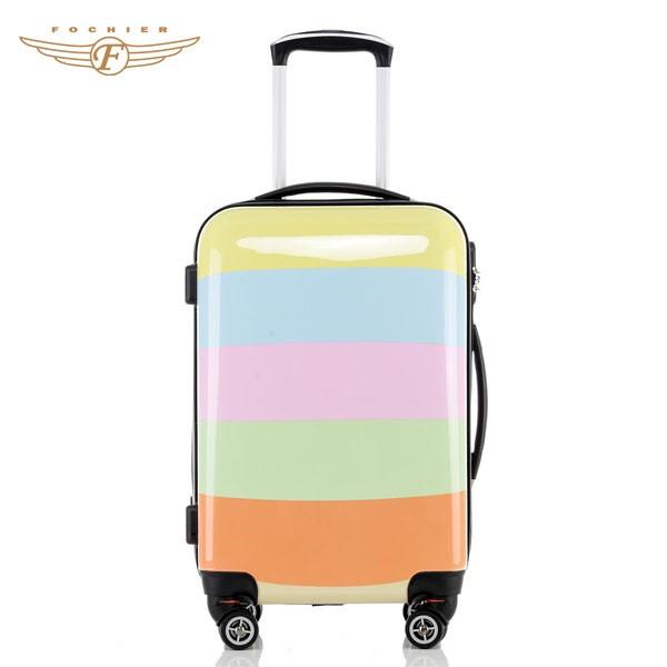 20 Inch Cute Custom Colorful Printed Kids Luggage Bag ...