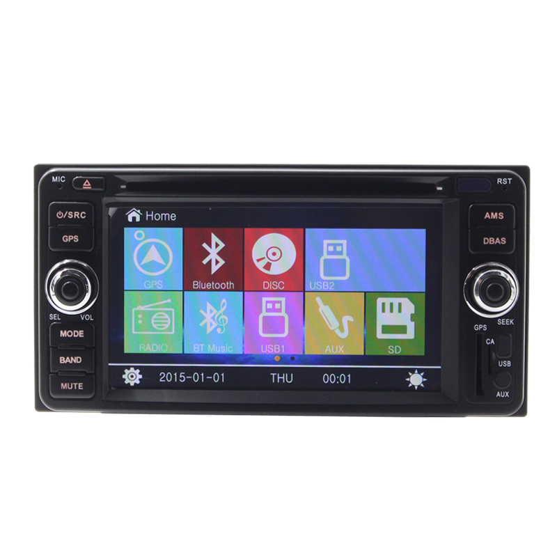 For T oyota corolla axio auto parts car dvd player with DVD/Radio/GPS/Bluetooth/SD/USB/SWC gps navigation