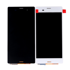 China Assembly Display with Touch Screen Digitizer for Sony for Xperia Z3 LCD Screen L55U L55T D6603 D6653